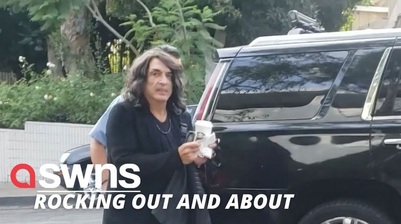 KISS' Paul Stanley spotted walking into a hotel without a mask just days after testing positive with