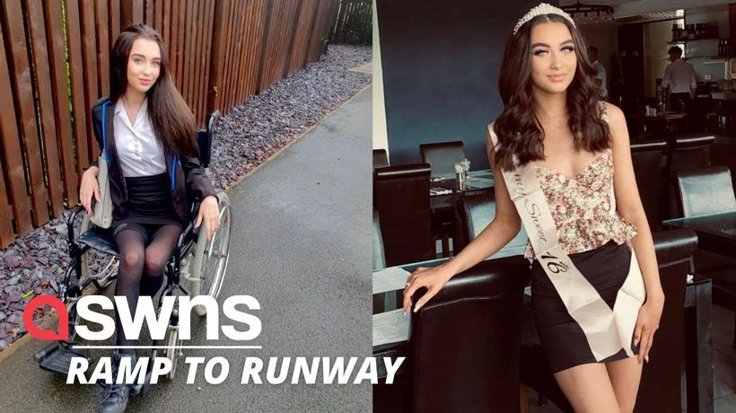UK teen who was wheelchair-bound for over a year taught herself how to walk again