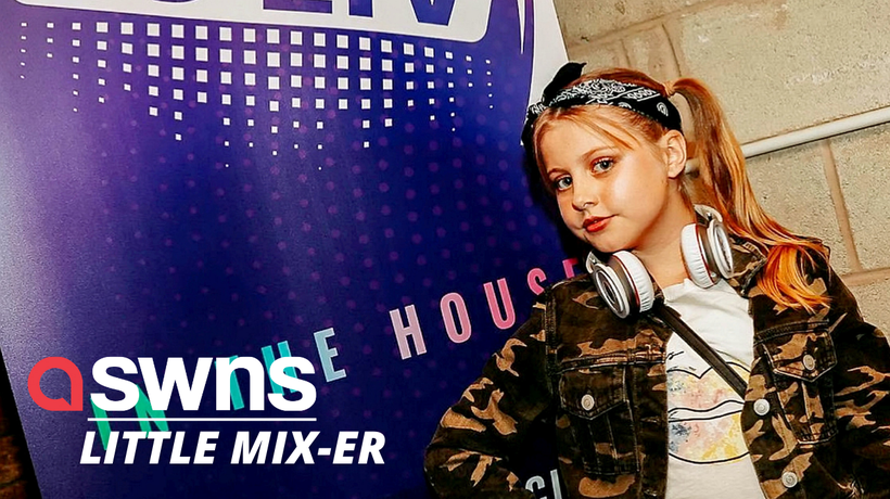 Meet Britain's youngest house music DJ, aged 11