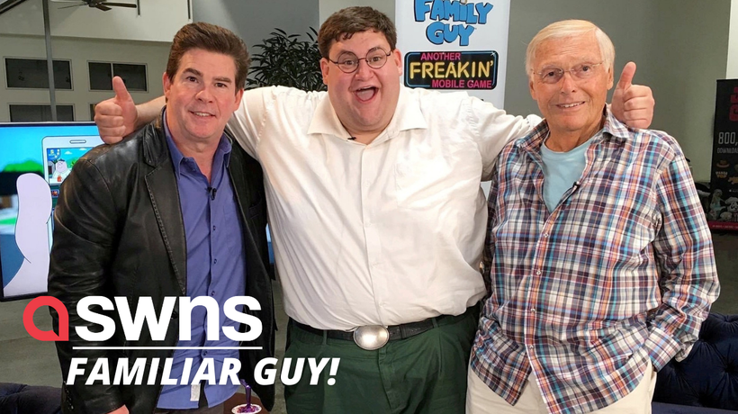 Meet the real life Peter Griffin from hit cartoon series 'Family Guy'