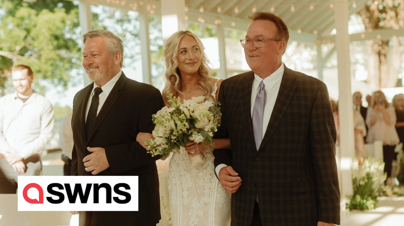Father-of-the-bride invites daughter's stepdad to walk her down the isle with him
