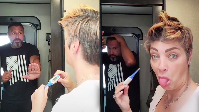 'Positive Pregnancy Test Prank on Husband *He Freaks Out*'