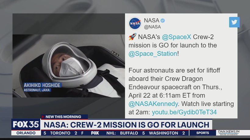 SpaceX, NASA give 'go' for astronaut launch