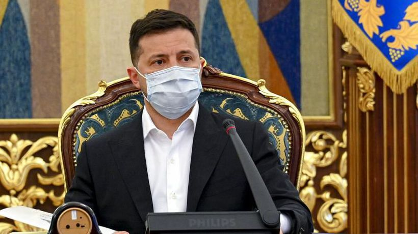 Ukraine's Zelenskiy appeals for European support in stand off with Russia