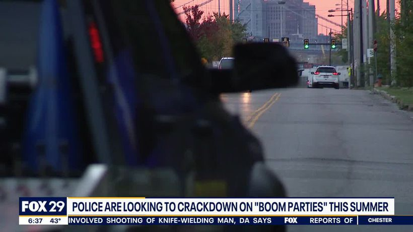 'Boom Parties': Loud music carrying across Del. River, disturbing South Jersey residents
