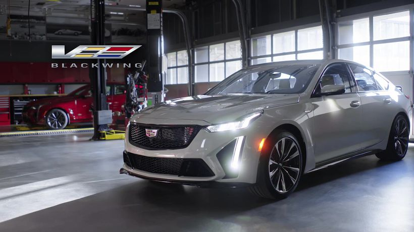 2022 Cadillac V-Series Blackwing Reveal