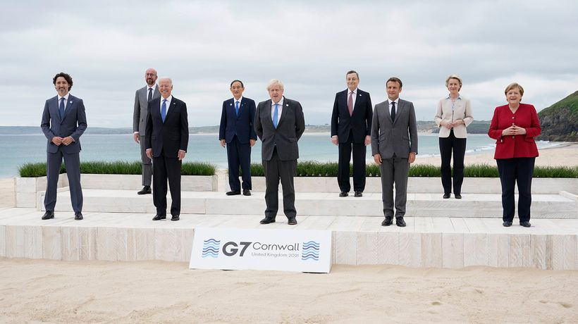 G7 summit wraps with pledges on COVID-19, climate, and China