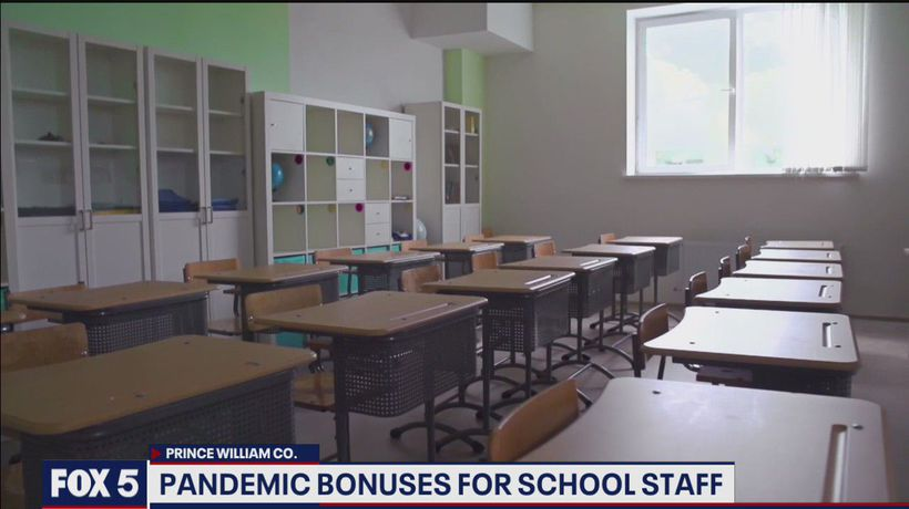 Pandemic checks could be coming to Prince William County educators