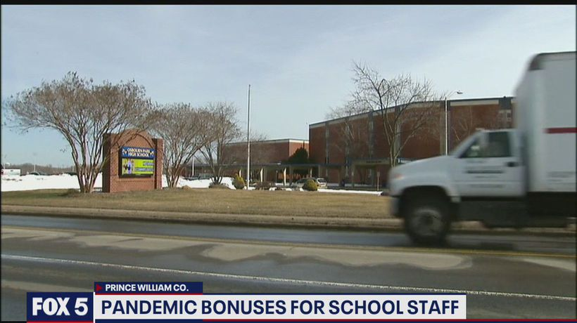 Teachers in Prince William County could be receiving a bonus