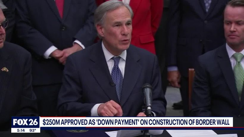 Governor Abbott to spend tax dollars on Texas border