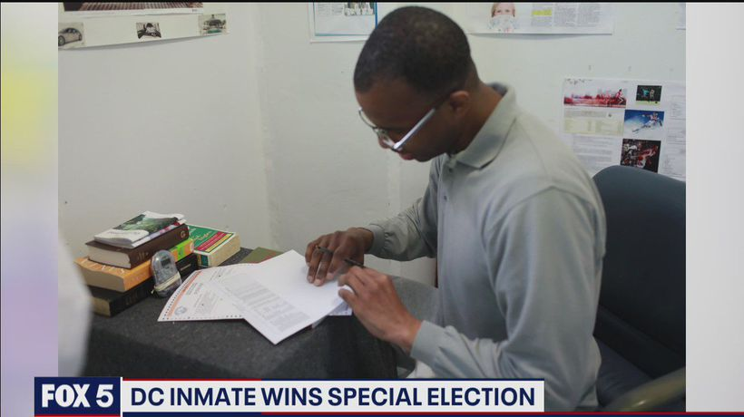 DC inmate wins special election
