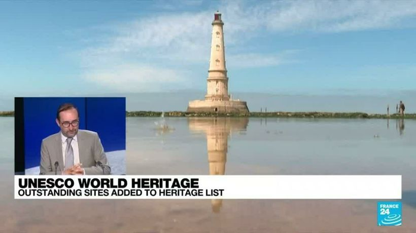 UNESCO adds France's Cordouan lighthouse, Vichy to world heritage list