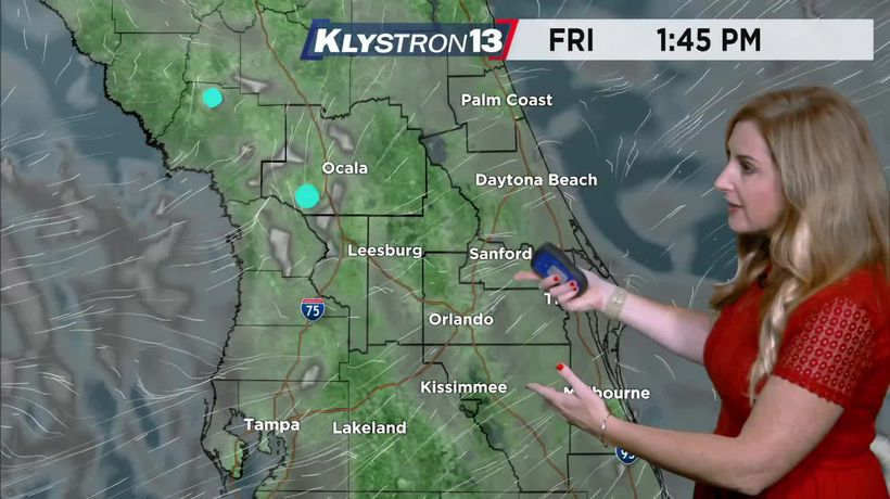 Friday 07/30/21 weather presented by Spectrum News 13