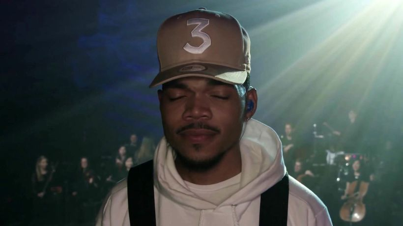 Chance The Rapper's Magnificent Coloring World