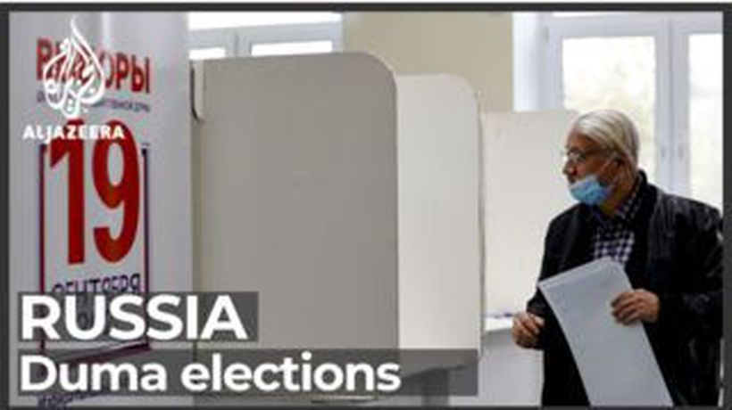 Russia Duma elections: People vote to elect parliamentary representatives