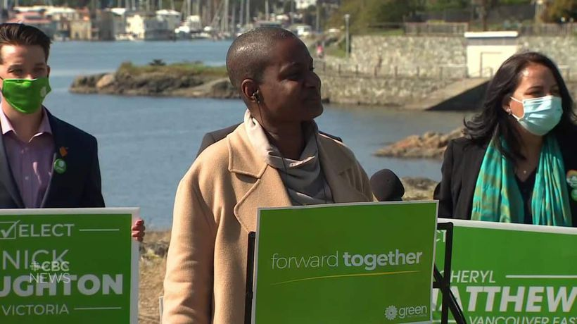 'I'm disappointed,' said Green Party leader on not having enough candidates