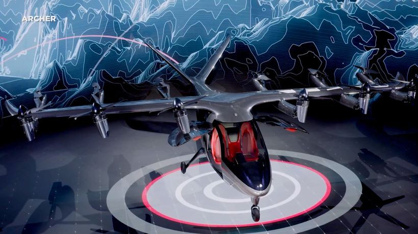 Electric Aircraft Maker Archer Aviation Makes NYSE Debut Via SPAC Merger