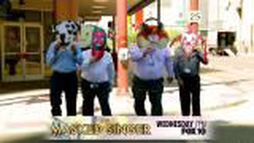 Masked Singer Characters Invade Phoenix