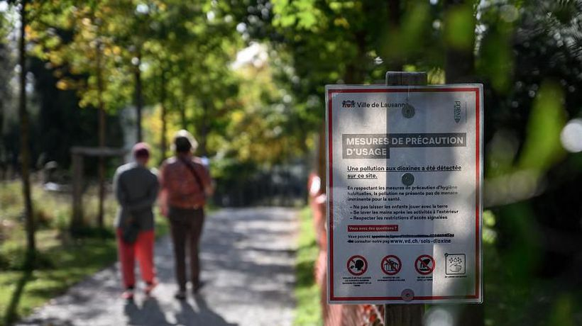 Lausanne discovers soil has been polluted with dangerous chemicals for more than years