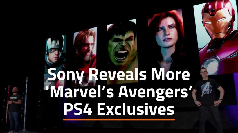 'Marvel's Avengers' And The PS4 Exclusives
