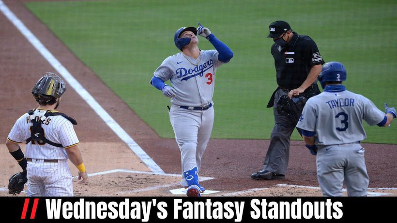 Wednesday's Fantasy Standouts