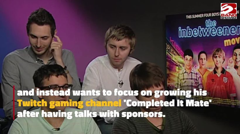 Swapping acting for gaming: James Buckley giving up acting to become full-time gamer
