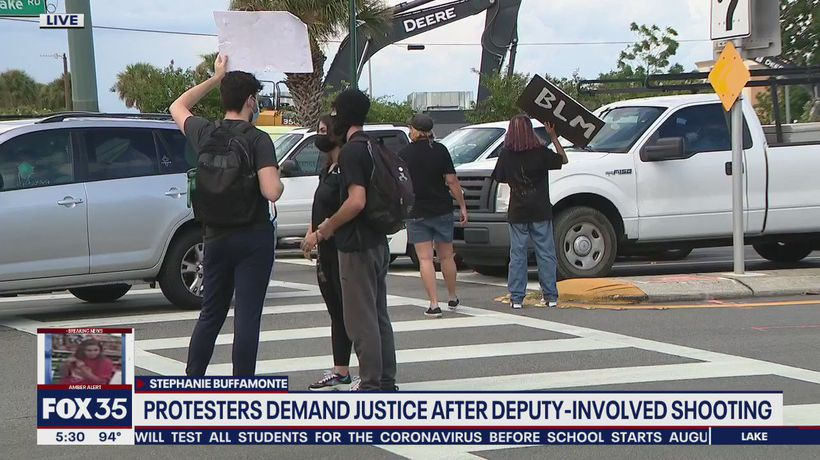 Protesters demand justice after deputy-involved shooting