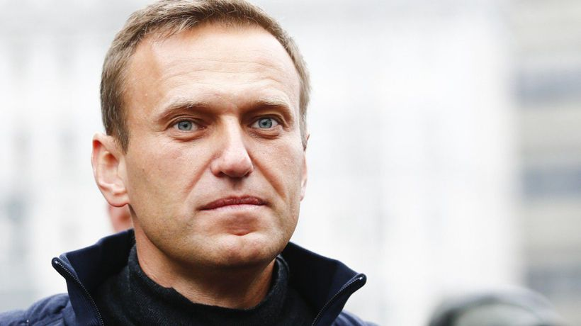 Navalny Rejoices: 'I'm A Guy Whose Legs Are Shaking When He Walks Up The Stairs'