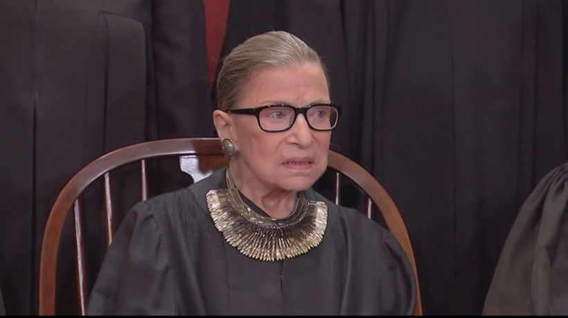 Ruth Bader Ginsburg honoured in historic US Capitol ceremony