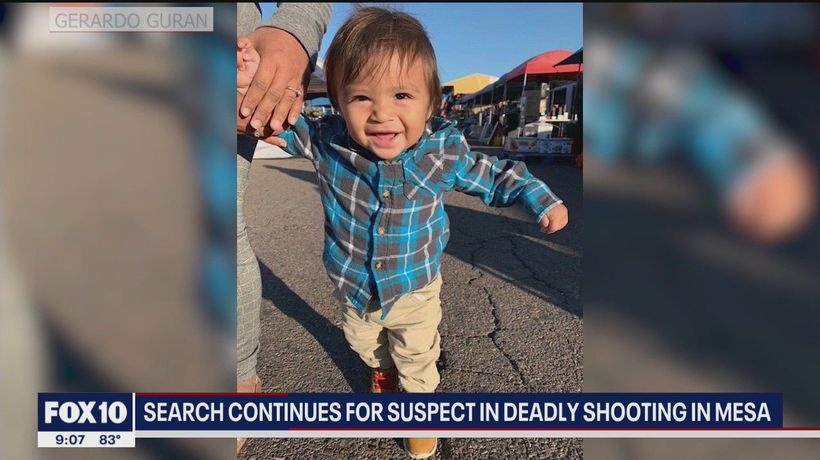 Authorities offer $20K reward leading to arrest in Mesa shooting that killed baby