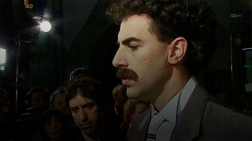 Sacha Baron Cohen spent five days in character as Borat for sequel