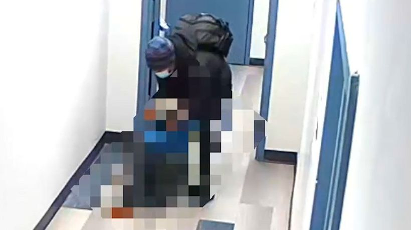 Video shows 14-year-old being attacked by man inside Brooklyn hallway: cops