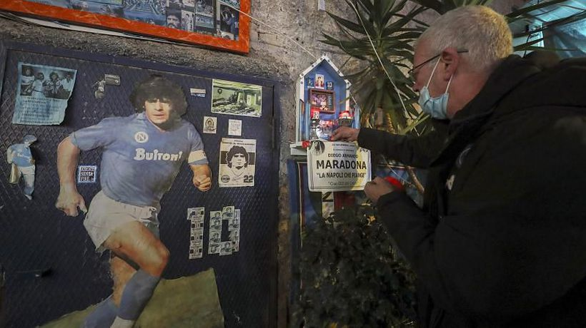 Naples mourns the passing of adopted son, Diego Maradona
