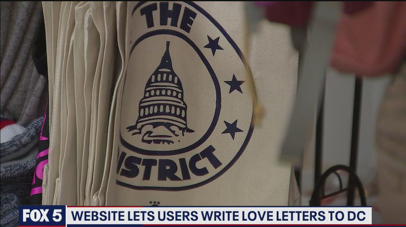 Website lets users write love letters to DC