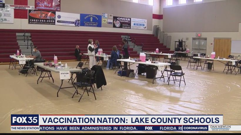 Lake County begins vaccinating school staff