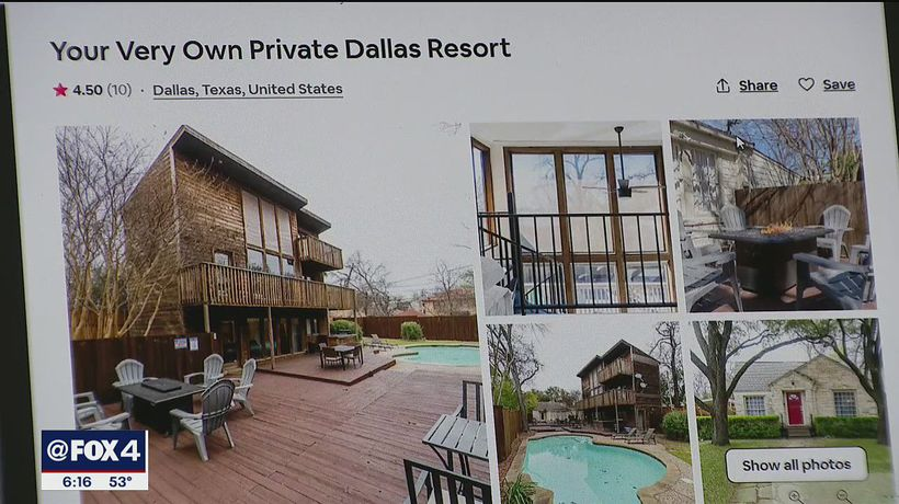 Dallas City Council considering ban on short-term rentals in certain neighborhoods