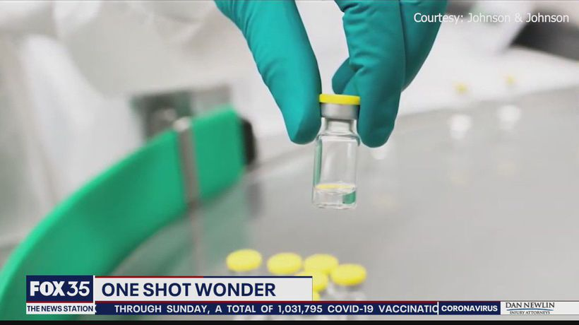 Johnson & Johnson COVID-19 vaccine requires just one shot
