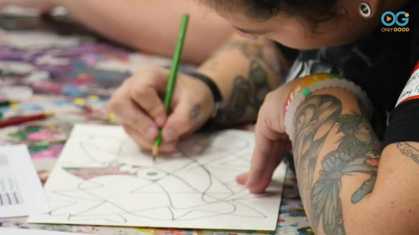 """Art Classes Offer """"Transformative"""" Experience To People Living With Special Needs"""