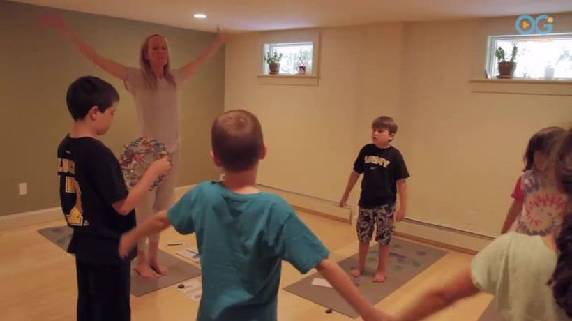 Smart Yoga Mat Promotes Growth And Learning For Kids With Special Needs