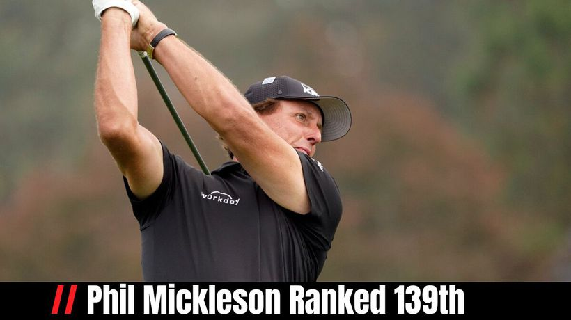 Phil Mickleson Ranked 139th