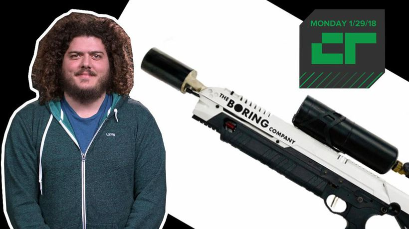 Crunch Report - Elon Musk's flamethrowers bring in $5 million so far