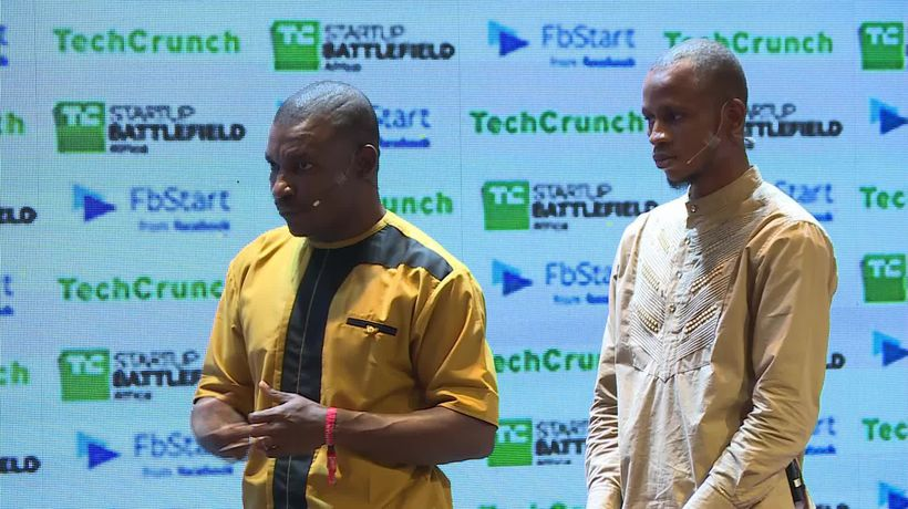 Powerstove at the Startup Battlefield Finals | Battlefield Africa 2018