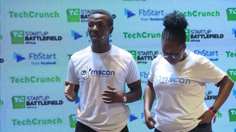 M-Scan at the Startup Battlefield Finals | Battlefield Africa 2018