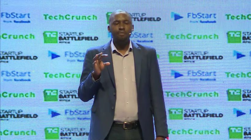 Apollo Agriculture at the Startup Battlefield Finals | Battlefield Africa 2018