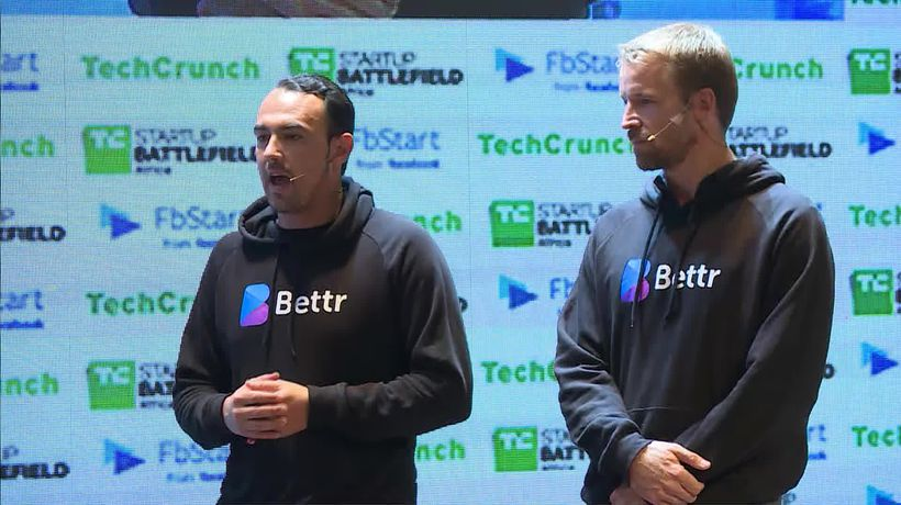 Bettr at the Startup Battlefield Finals | Battlefield Africa 2018