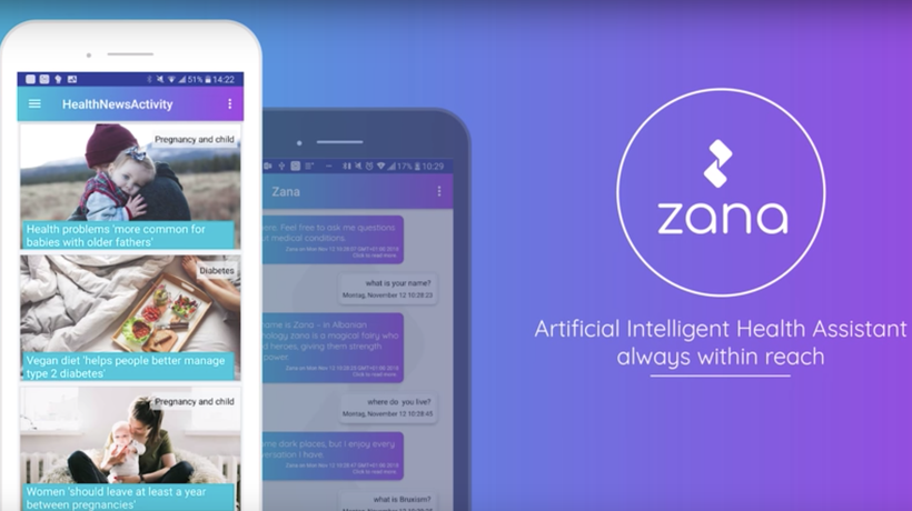 Zana's intelligent assistant answers your health questions