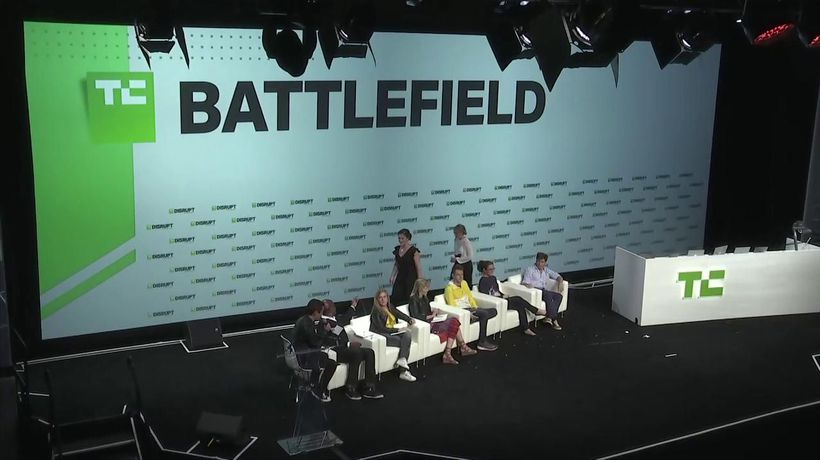 Startup Battlefield Competition - Hai by Crossing Minds | Disrupt SF