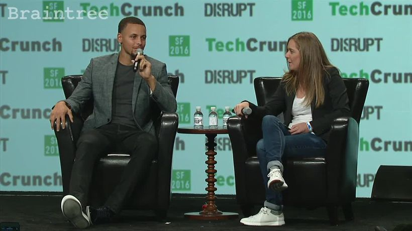 "Steph Curry discusses ""Nothing But Nets"" at Disrupt SF"