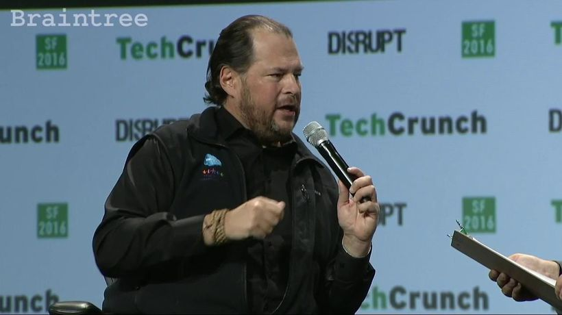 Marc Benioff on implementing AI