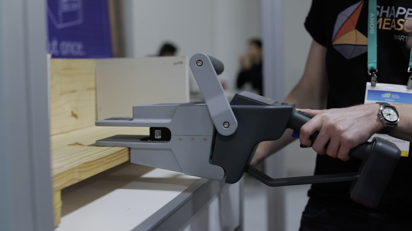 Shapemeasure's lasers and automation let carpenters measure once and cut never
